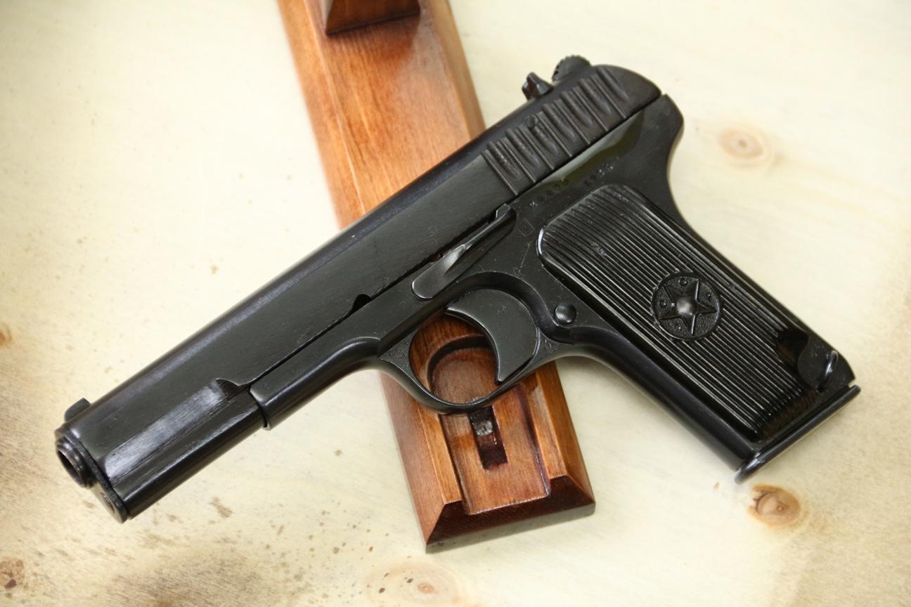 Сигнальный пистолет ТТ-С, ранняя модификация ТТ-30 1935 года №24405