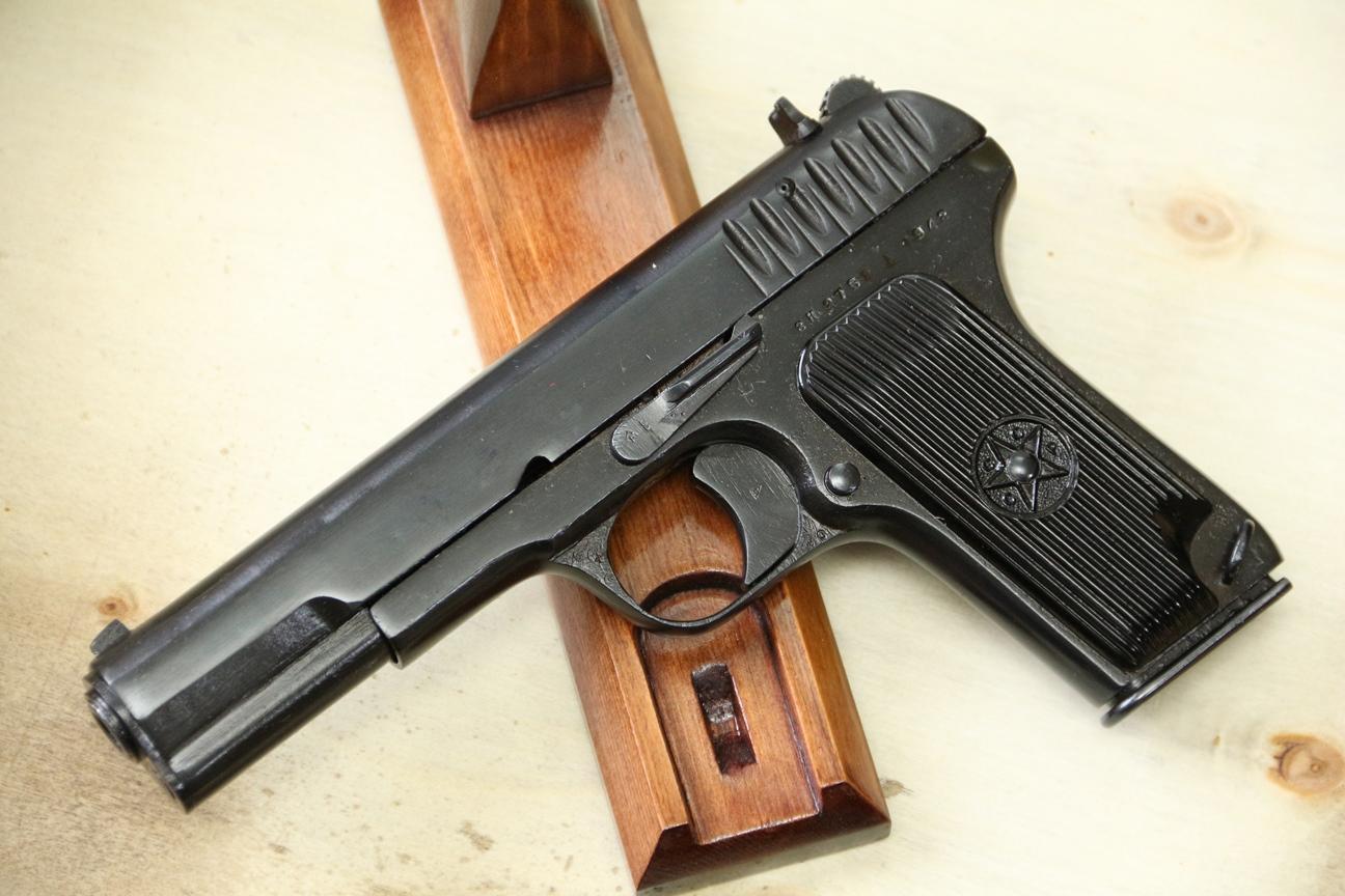 Фото Сигнальный пистолет ТТ-С 1942 года №ЗК 5752