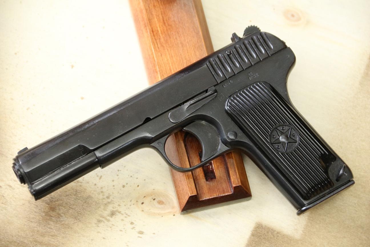 Сигнальный пистолет ТТ-С, ранняя модификация ТТ-30 1933 года №1204, РАРИТЕТ!