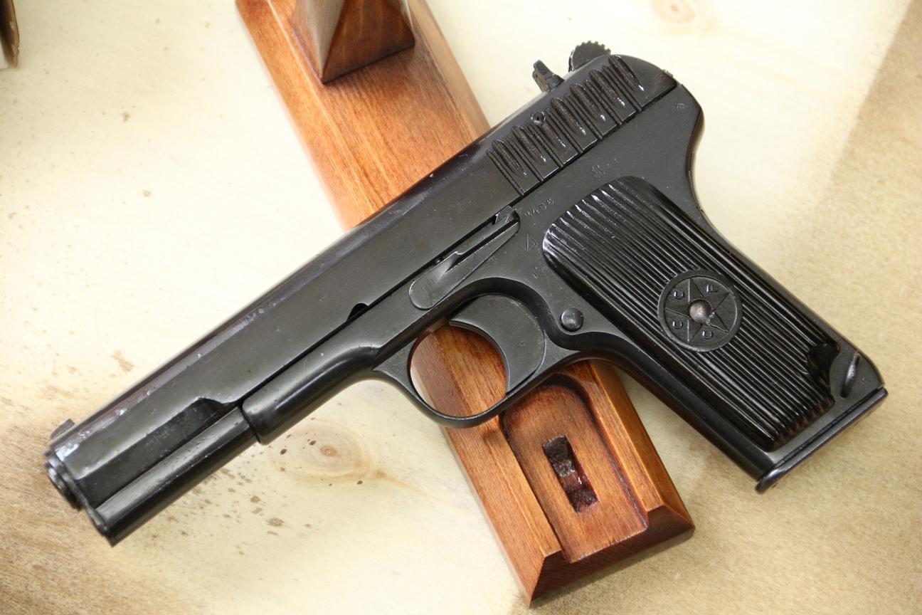 Сигнальный пистолет ТТ-С, ранняя модификация ТТ-30 1933 года №3406, РАРИТЕТ!