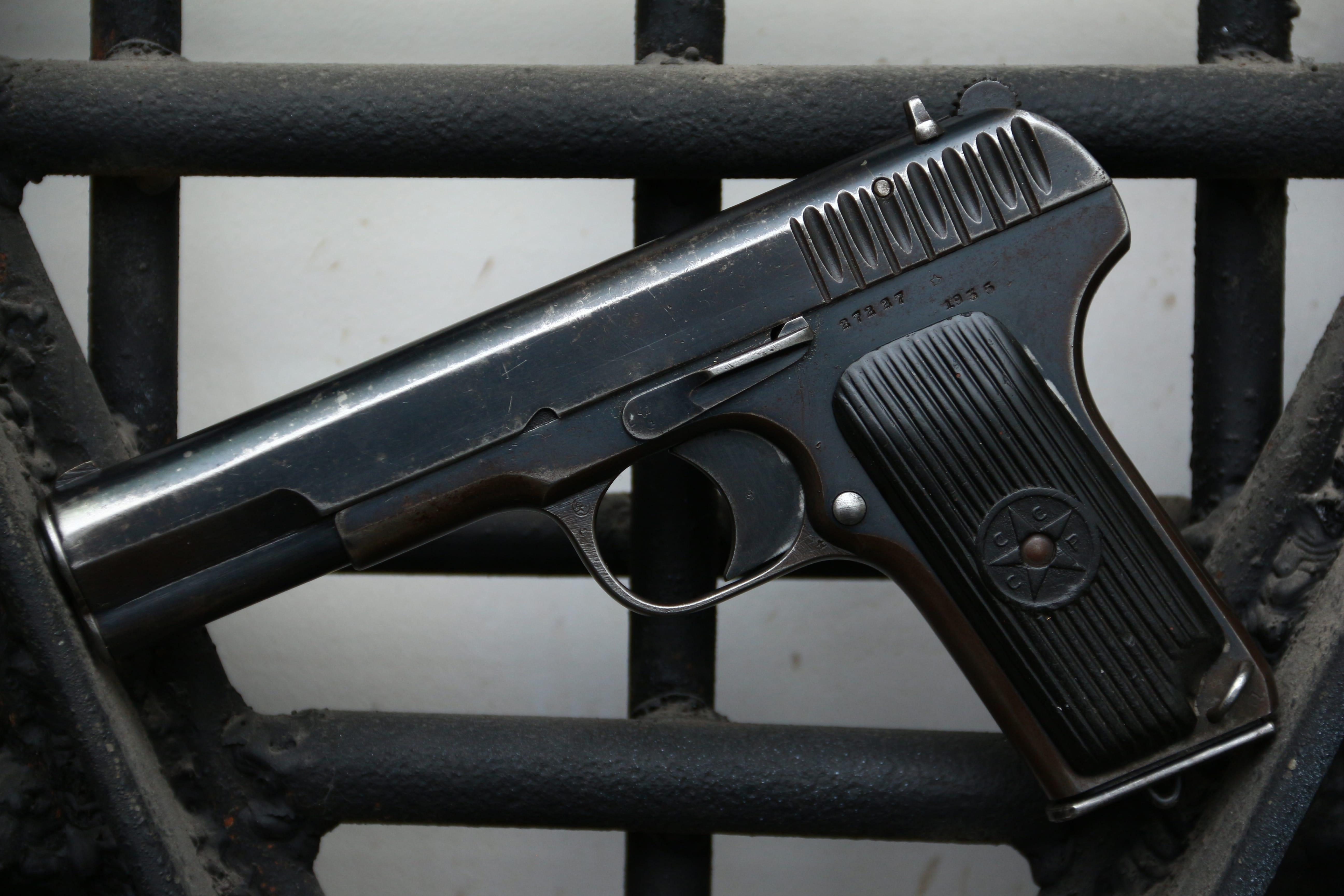 Охолощенный пистолет ТТ-30 1935 года №27227