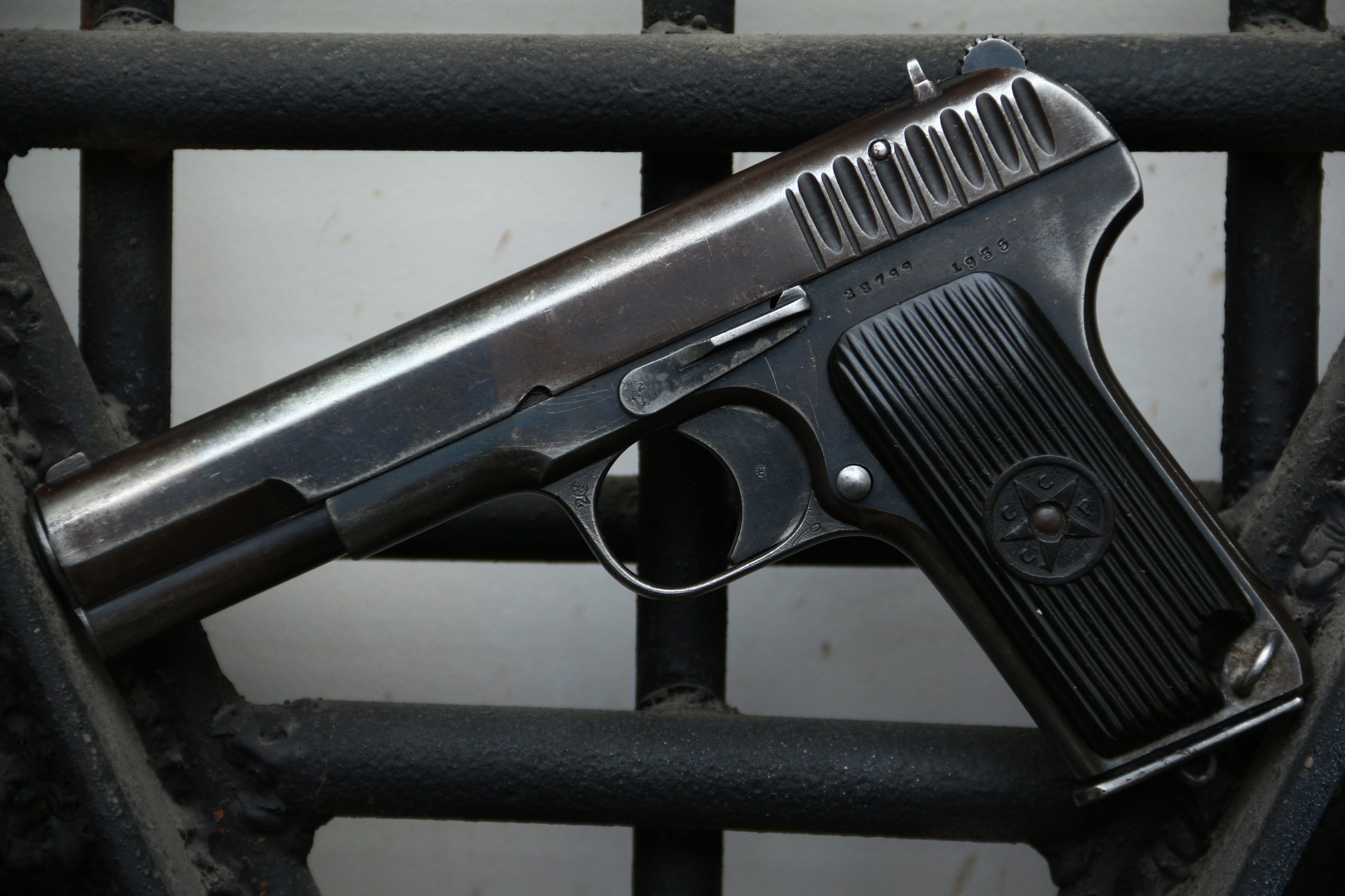 Охолощенный пистолет ТТ-30 1935 года №28799