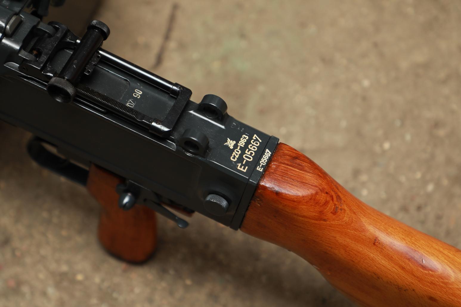 Чехословацкий пулемет UK-59 1963 года №Е-05667