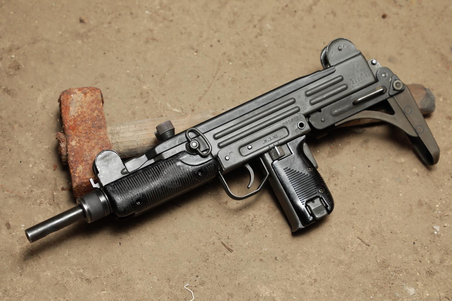 Пистолет-пулемет UZI #2133555