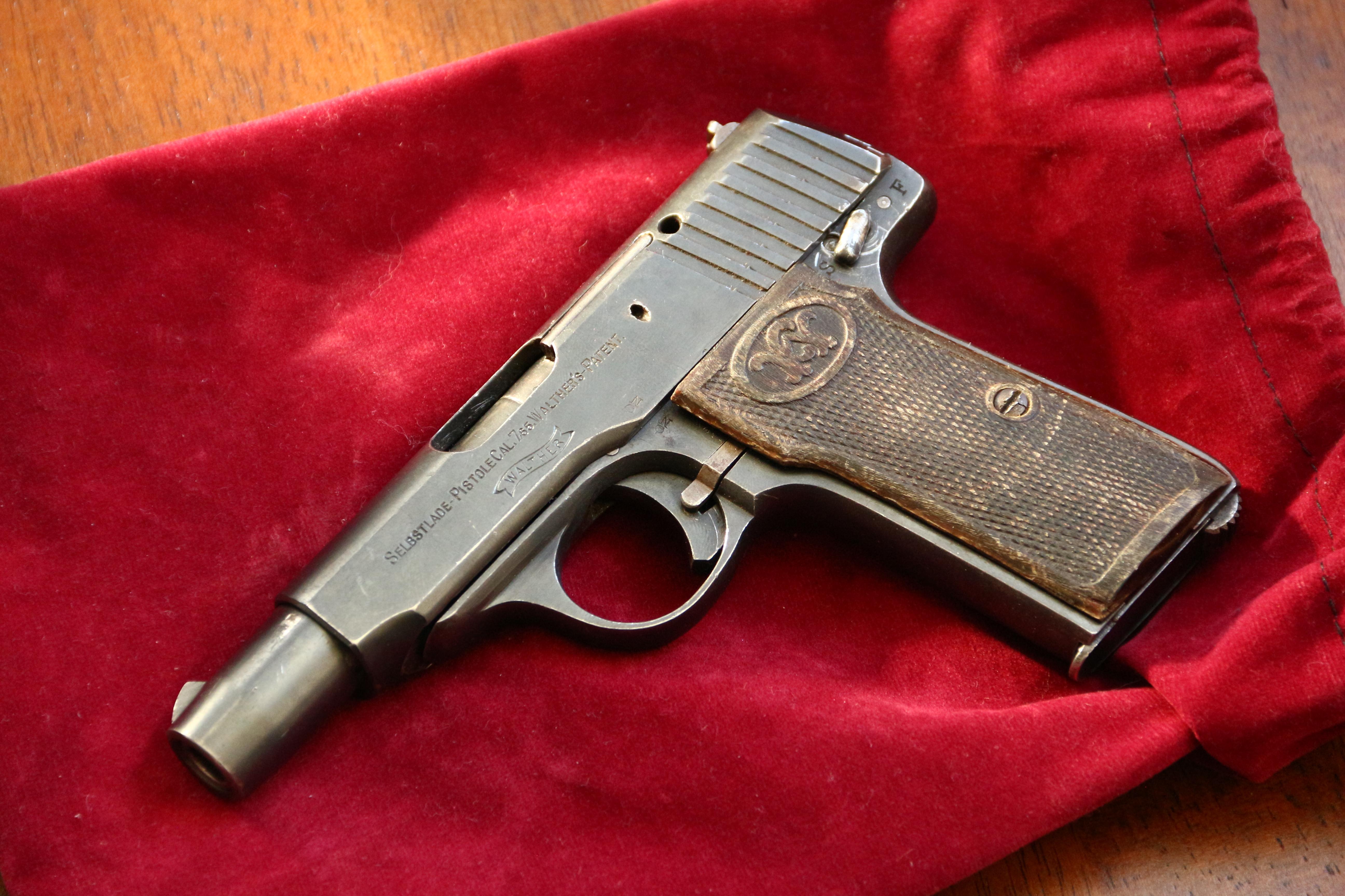 Фото Пистолет Walther mod. 4 1923 год #217097