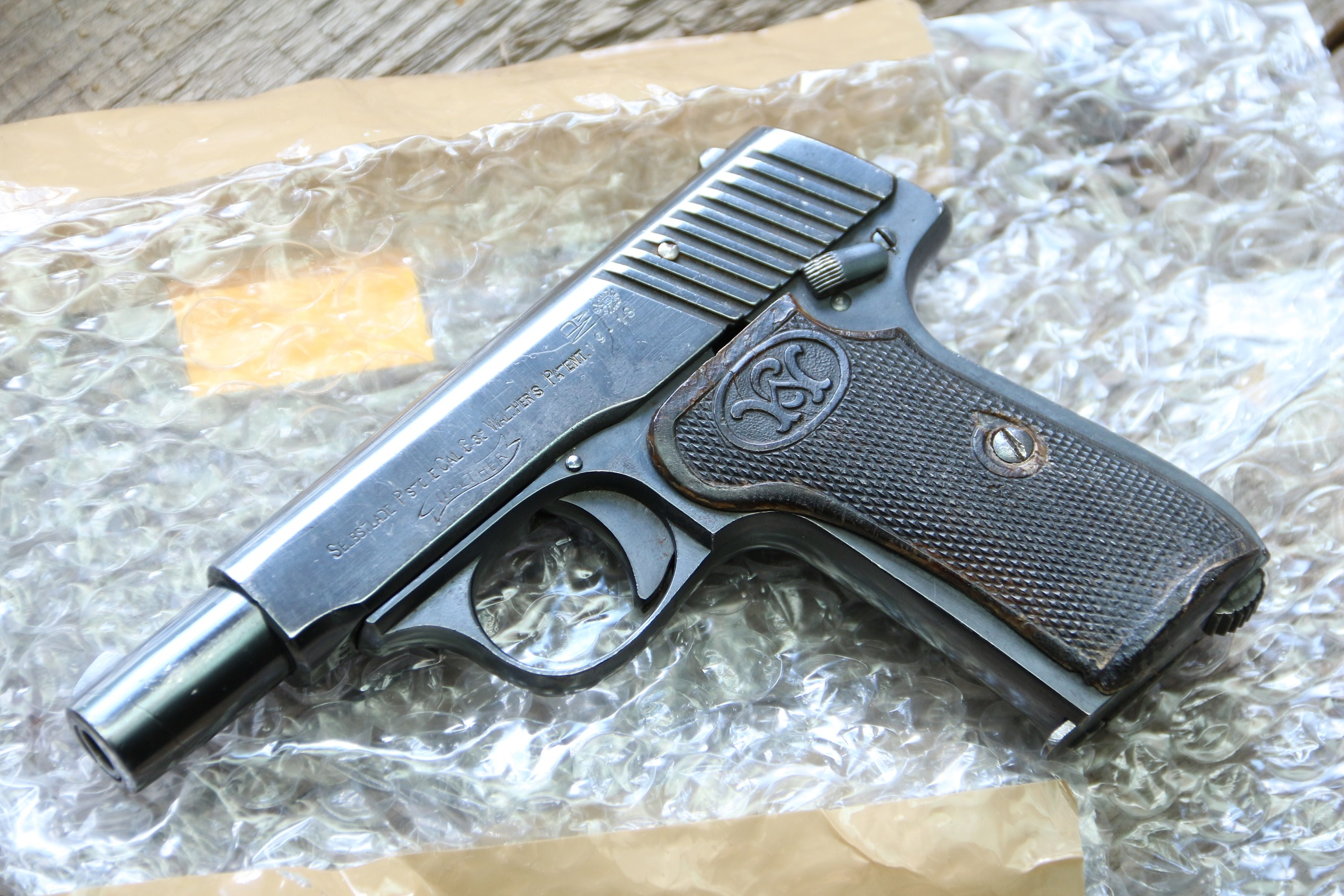 Фото Жилетный пистолет Walther model 7 #55091
