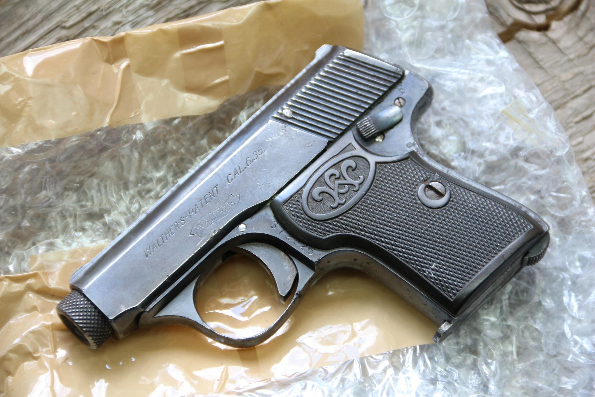Фото Жилетный пистолет Walther model 5 #372826