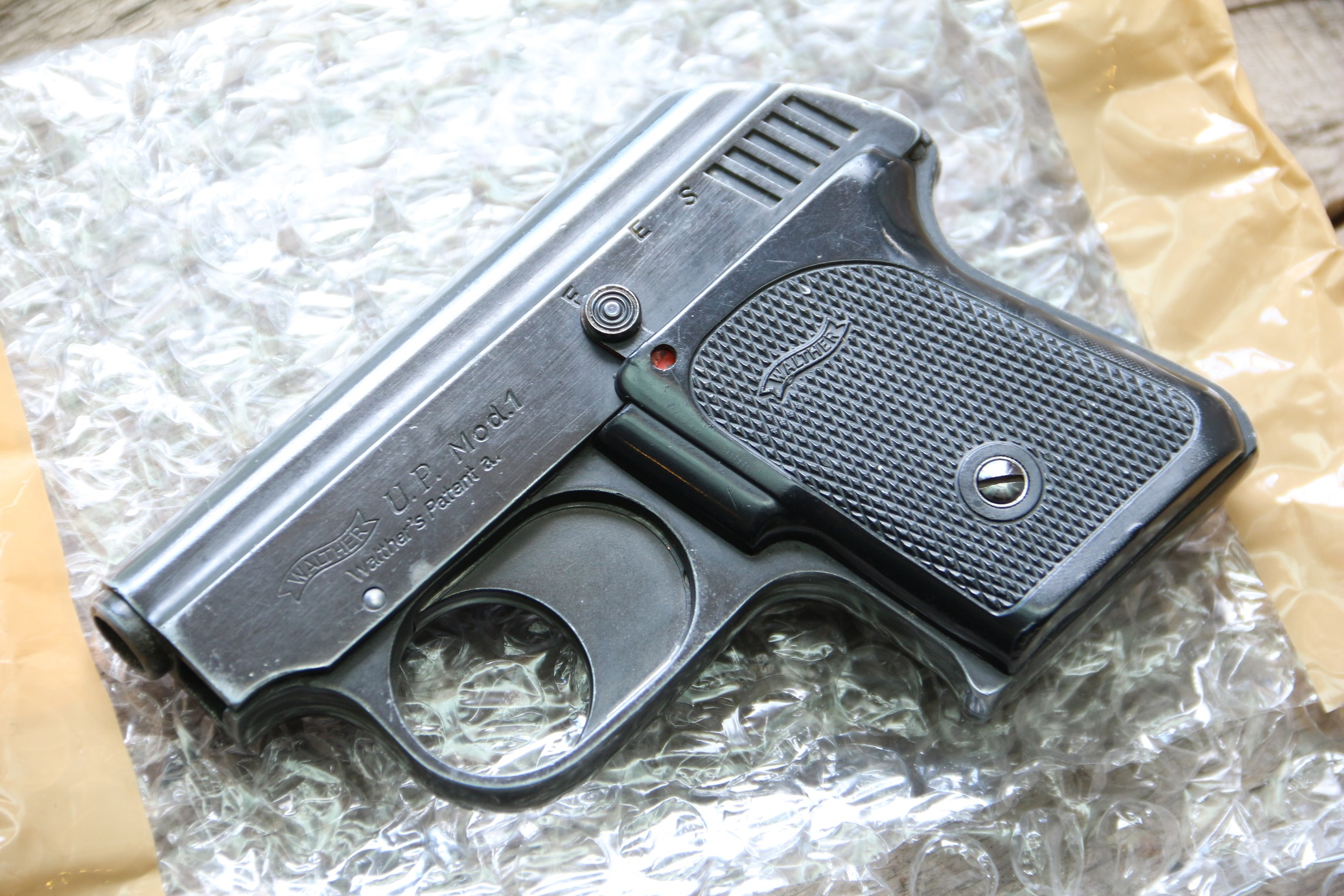 Фото Стартовый пистолет Walther mod. 1 UP, 1932 год, #11