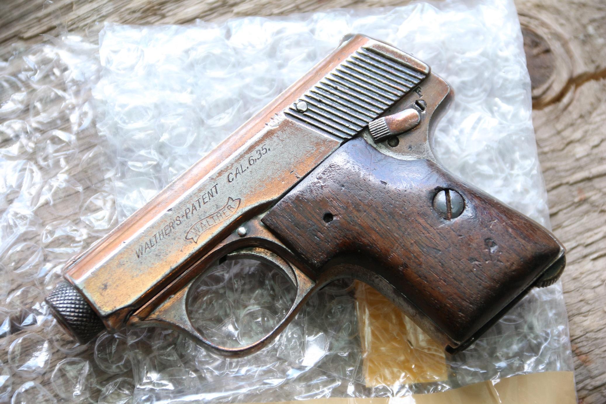 Фото Жилетный пистолет Walther model 5, в дамском исполнении