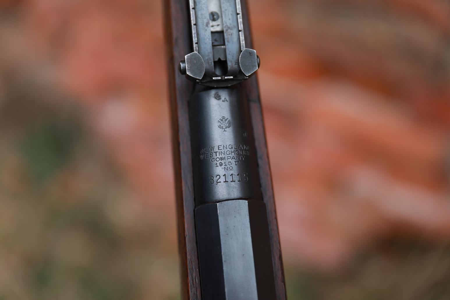 Фото Охолощенная винтовка Westinghouse 1915 года, №821115