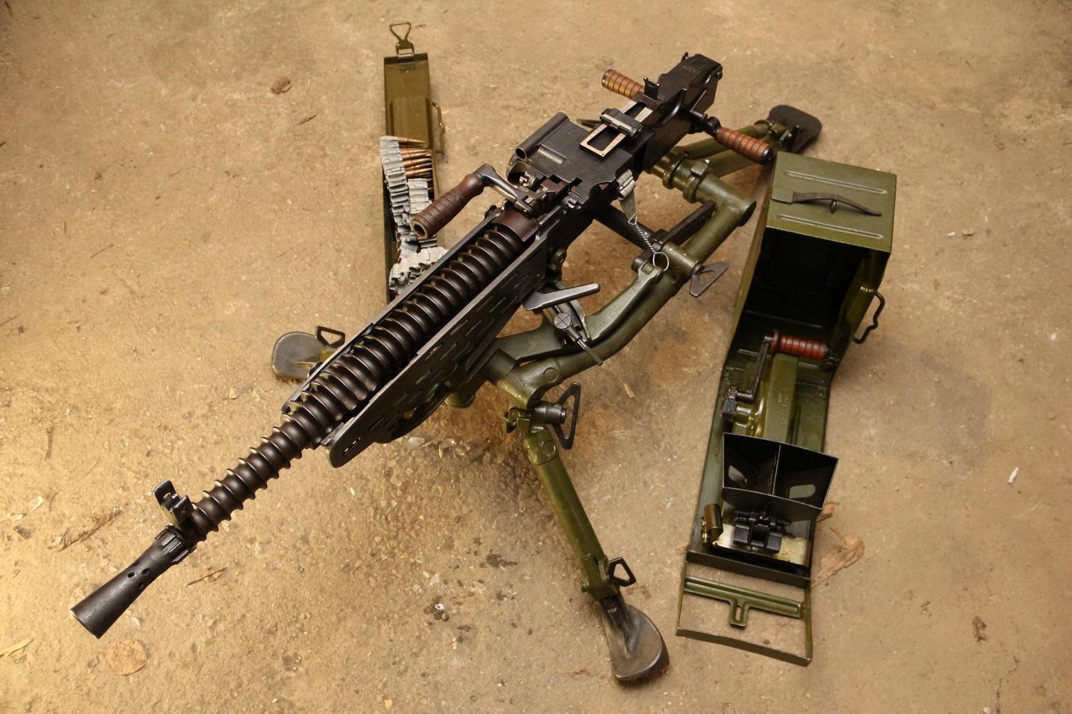 Станковый пулемет ZB vz. 37 #5592, коллекционный комплект, трофей ww2