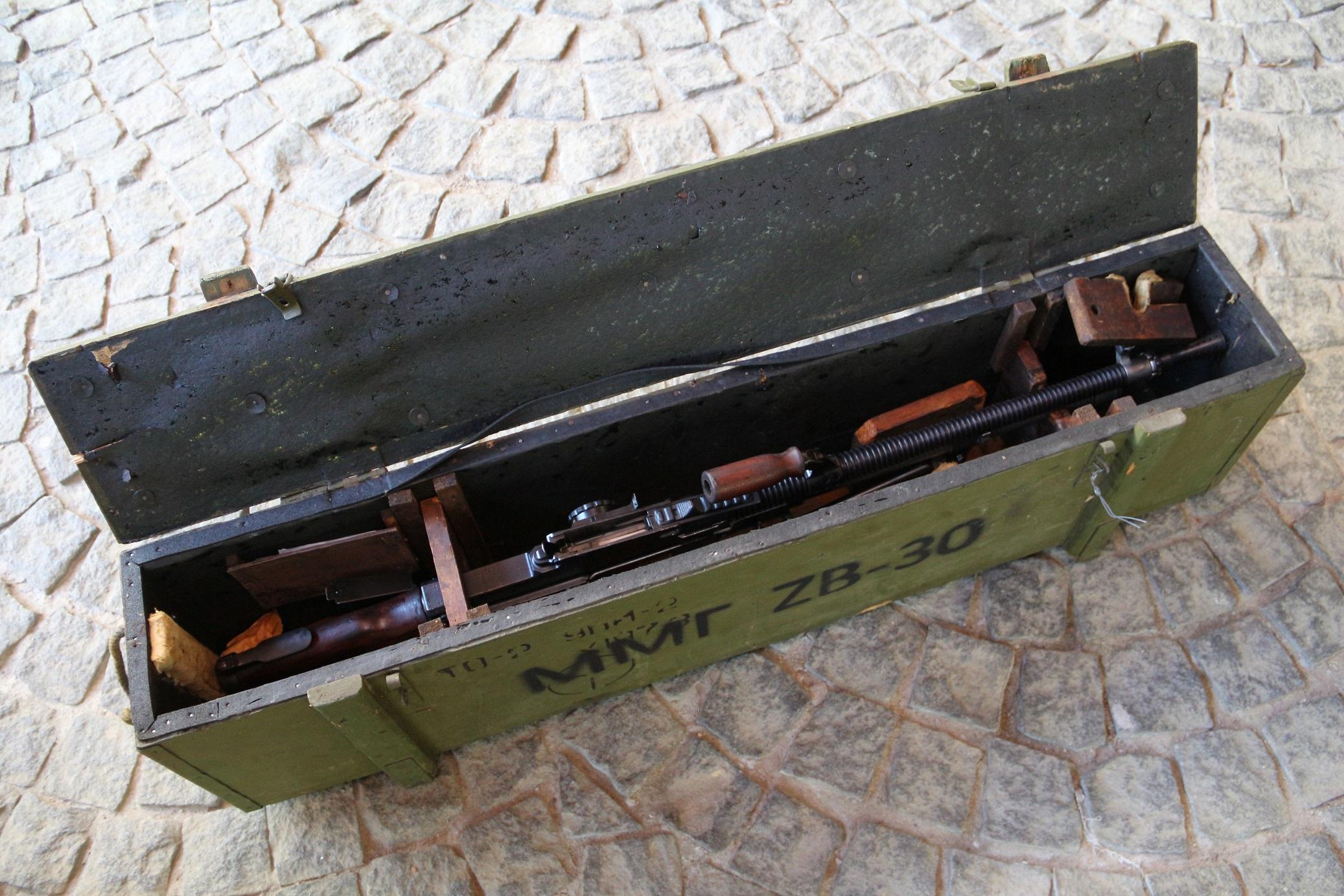 Ручной пулемет ZB vz. 30 Zbrojovka Brno #02133Br, румынский заказ с гербом, трофей