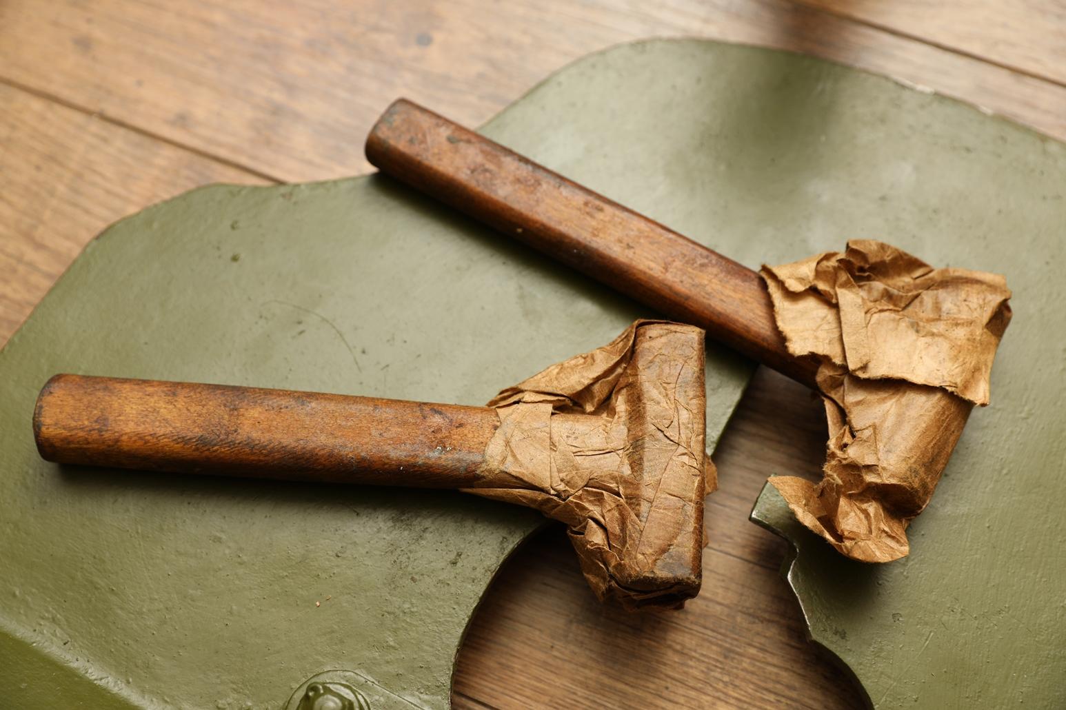 Фото Оригинальные молотки из ЗИП пулемета Максим, два вида